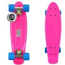 "Fish Skateboard Pink 22"" Urban Retro Cruiser Blue Wheel /"