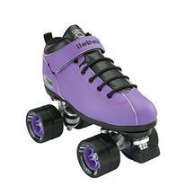 Riedell Skates Dart Roller Skate,Purple, Mens 7 / Ladies 8