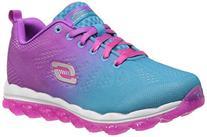 Skechers Kids 80223L Skech Air -Sneaker,Blue/Purple,2.5 M US
