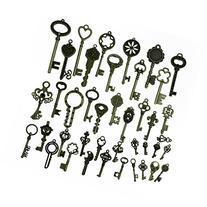 Makhry 42Pcs Jewelry Making Charms Craft keys Decorative Key