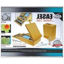 Sketching & Drawing Easel Artist Kit-122 Pieces