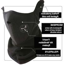 Ski Mask Neck Warmer / Outdoor Sports Mask - Black