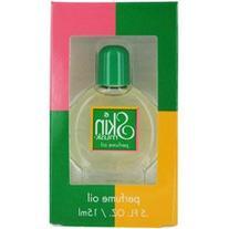 SKIN MUSK by Parfums de Coeur PERFUME OIL .5 OZ