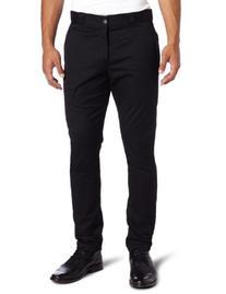 Dickies Men's Skinny Straight Fit Work Pant, Black, 30x32