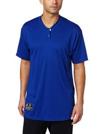 Easton Skinz 2 Button Placket Jersey, Royal, Medium