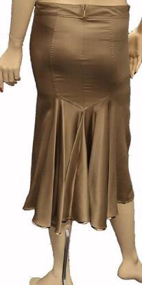 Roberto Cavalli Womens Skirt Beige Silk, 40, Beige