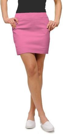 Loudmouth Golf Womens Skort: Bubblegum Pink - Size 0