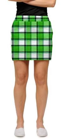 Loudmouth Golf Womens Skorts: Boxwood - Size 0