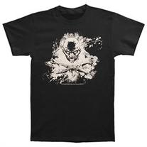 Walking Dead Skull and Cross Bones T Shirt Black