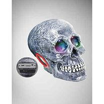 Visual Effects Skull Speaker With Remote And Led Eyes