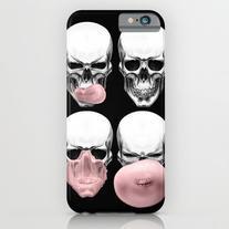 Skulls Chewing Bubblegum iPhone 6s Case