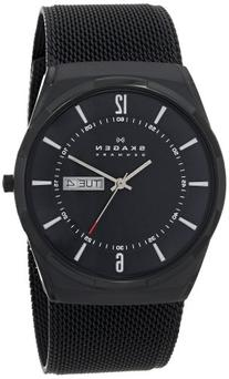 Skagen Men's 'Aktiv' Quartz Titanium and Stainless Steel