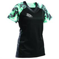 Troy Lee Designs Skyline Camo Womens Short Sleeve Bicycle