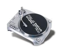 Dj Tech SL1300MK6USB-SIL Direct Drive DJ Turntable, Silver