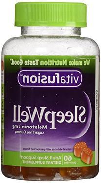Vitafusion Sleep Well Gummies, 60 Count