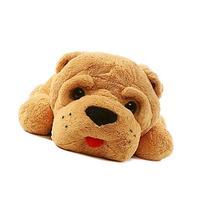 """Kaylee & Ryan 47"""" Sleeping Shar Pei Dog Plush Toy Pillow"""