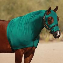 Sleazy Sleepwear For Horses LYCRA Horse Hood Solid Colors L