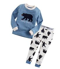Vaenait Baby Boy's Sleepwear Pajama Top Bottom 2 Pieces Set