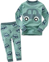 Vaenait Baby Boy's 2 Pieces Sleepwear Pajama Set Mini Car