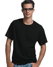 Hanes Short Sleeve 50/50 T-Shirt Black 2XL