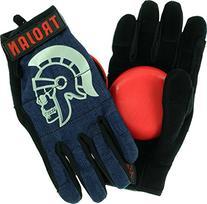 Trojan Slide Gloves Denim Blue Slide Gloves Includes Venom