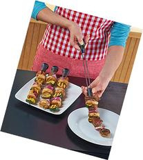Slide and Serve Skewers