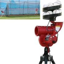 Slider Curve Lite-ball Machine with Feeder & 24 X 12 X 12