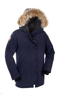 Men's Canada Goose 'Chateau' Slim Fit Genuine Coyote Fur