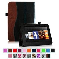 """Fintie Folio Case for Kindle Fire HD 7""""  - Slim Fit Leather"""