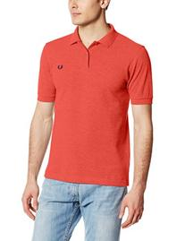 Fred Perry Men's Slim Fit Polo Shirt in Steel Marl XS M US