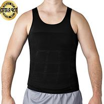 Roc Bodywear Men's Body Slimming Compression Shirt, Insta