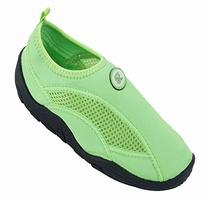 Brand New Kids Slip-On Athletic Green Water Shoes / Aqua