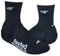 DeFeet International Slipstream 4-Inch D-Logo Shoe Covers,