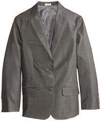 Calvin Klein Big Boys' Slub Twill Jacket, Dark Grey, 14