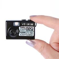 Kasstino 5MP HD Smallest Mini Spy Digital DV Camera Video