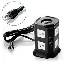 Safemore Smart 8-Outlet with 4-USB Output Power Strip