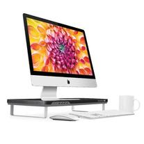Satechi F3 Smart Monitor Stand with 4 USB 3.0 Ports and
