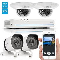 Zmodo Smart PoE Security System -- 8 Channel NVR & 2 x 720p