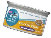 Purina One True Instinct Recipes Wet Cat Food, Chicken In