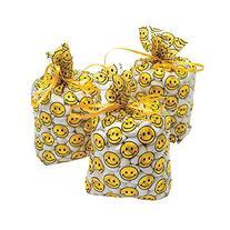 Smile Face Cellophane Goody Bags