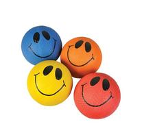 """10"""" SMILE FACE PLAYGROUND BALL, Case of 50"""