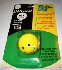 Smiley Face Gag Ball for the golfer who has everything