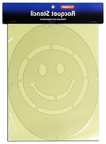 Tourna Smiley Face Tennis Stencil