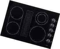 "Frigidaire 30"" Smoothtop Electric Black Cooktop with Built-"