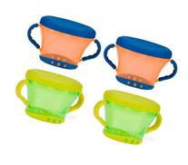 Nuby Snack Keeper - 4 Pack