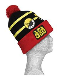 686 Men's Snaggletooth Peepers Beanie, Black, One Size