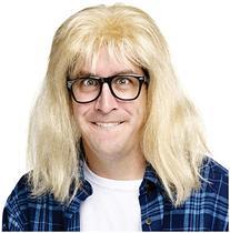 SNL Garth Algar Wig and Glasses Accessory Kit