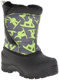 Northside Snoqualmie Winter Boot ,Dark Gray/Green,8 M US