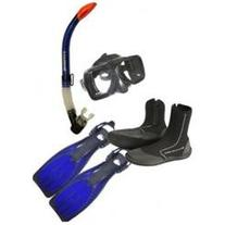Typhoon Snorkeling Package - Size 10 - Blue Great for