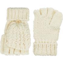 Accessorize Snow Slub Capped Gloves
